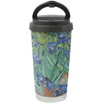 Irises (Van Gogh) Stainless Steel Travel Mug