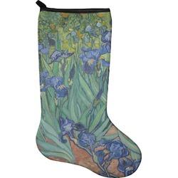 Irises (Van Gogh) Holiday Stocking - Neoprene