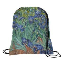 Irises (Van Gogh) Drawstring Backpack - Small
