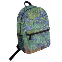 Irises (Van Gogh) Student Backpack
