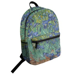 Irises (Van Gogh) Student Backpack