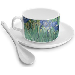 Irises (Van Gogh) Tea Cups