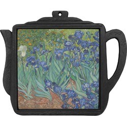 Irises (Van Gogh) Teapot Trivet