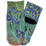 Irises (Van Gogh) Toddler Ankle Socks