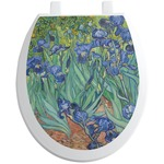 Irises (Van Gogh) Toilet Seat Decal