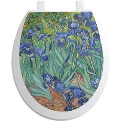 Irises (Van Gogh) Toilet Seat Decal