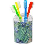 Irises (Van Gogh) Toothbrush Holder