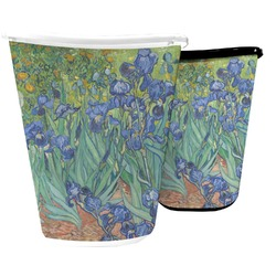 Irises (Van Gogh) Waste Basket