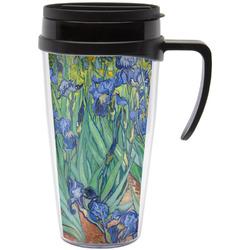 Irises (Van Gogh) Travel Mug with Handle