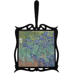 Irises (Van Gogh) Trivet with Handle
