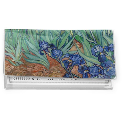 Irises (Van Gogh) Vinyl Checkbook Cover