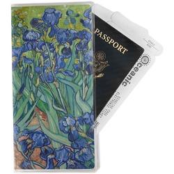 Irises (Van Gogh) Travel Document Holder