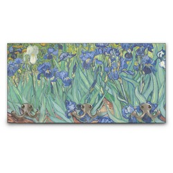 Irises (Van Gogh) Wall Mounted Coat Rack