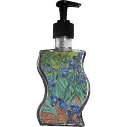 Irises (Van Gogh) Wave Bottle Soap / Lotion Dispenser