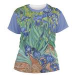 Irises (Van Gogh) Women's Crew T-Shirt