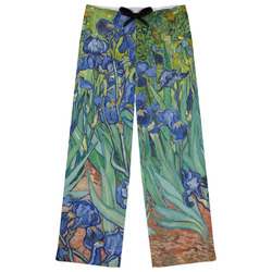 Irises (Van Gogh) Womens Pajama Pants