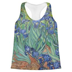 Irises (Van Gogh) Womens Racerback Tank Top