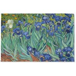 Irises (Van Gogh) Woven Mat