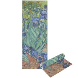 Irises (Van Gogh) Yoga Mat - Printable Front and Back