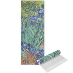 Irises (Van Gogh) Yoga Mat - Printed Front