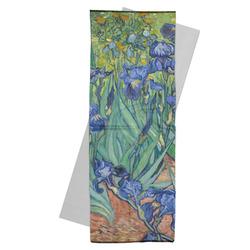 Irises (Van Gogh) Yoga Mat Towel