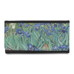 Irises (Van Gogh) Leatherette Ladies Wallet