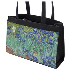 Irises (Van Gogh) Zippered Everyday Tote