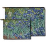 Irises (Van Gogh) Zipper Pouch
