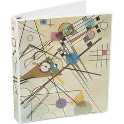 Kandinsky Composition 8 3-Ring Binder