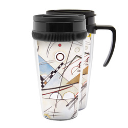 Kandinsky Composition 8 Acrylic Travel Mugs