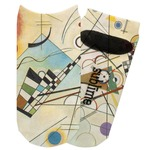 Kandinsky Composition 8 Adult Ankle Socks