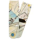 Kandinsky Composition 8 Adult Crew Socks