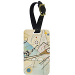 Kandinsky Composition 8 Aluminum Luggage Tag