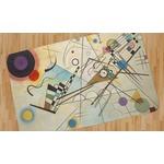 Kandinsky Composition 8 Area Rug