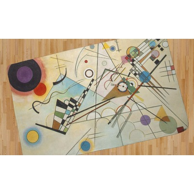 Kandinsky Composition 8 Area Rug