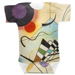 Kandinsky Composition 8 Baby Bodysuit
