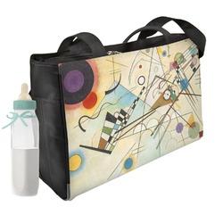 Kandinsky Composition 8 Diaper Bag