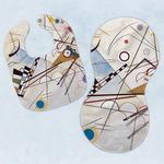 Kandinsky Composition 8 Baby Bib & Burp Set