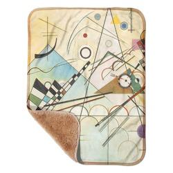 "Kandinsky Composition 8 Sherpa Baby Blanket 30"" x 40"""