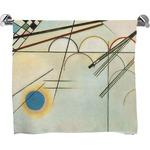 Kandinsky Composition 8 Full Print Bath Towel
