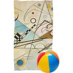 Kandinsky Composition 8 Beach Towel