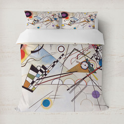 Kandinsky Composition 8 Duvet Covers
