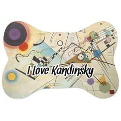 Kandinsky Composition 8 Bone Shaped Dog Food Mat