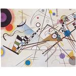 Kandinsky Composition 8 Placemat (Fabric)