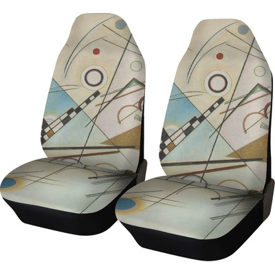 Kandinsky Composition 8 Car Seat Covers (Set of Two)