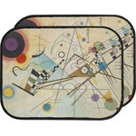 Kandinsky Composition 8 Car Floor Mats (Back Seat)
