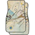 Kandinsky Composition 8 Car Floor Mats (Front Seat)