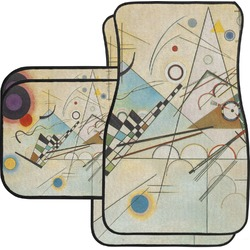 Kandinsky Composition 8 Car Floor Mats