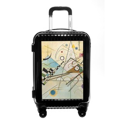 Kandinsky Composition 8 Carry On Hard Shell Suitcase