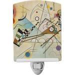 Kandinsky Composition 8 Ceramic Night Light